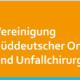 Vereinigung Süddeutscher Orthopäden und Unfallchirurgen, Jahresstagung in Baden Baden