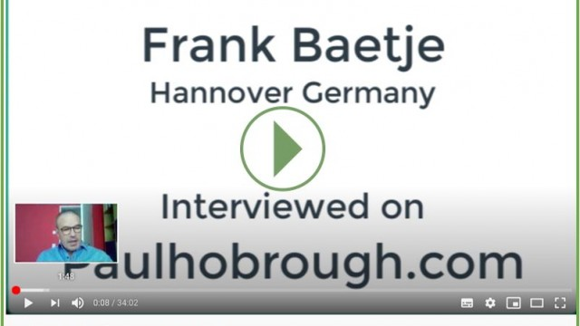 Youtube Interview Frank Bätje mit  Paul Hobrough Shockwave and running expert