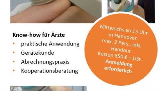 Extrakorporale Stosswellentherapie (ESWT) in der Klinik