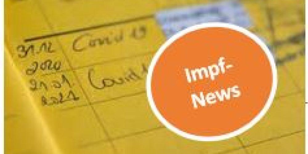 News zu Covid 19-Impfungen/Neues Angebot