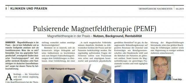 Orthopädische Nachrichten Ausgabe 04.2109